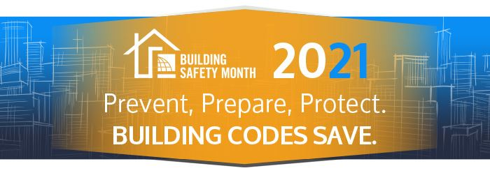 2021 Building Safety Month Banner Opens in new window