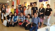 Harima cho Delegation visit to Art Space
