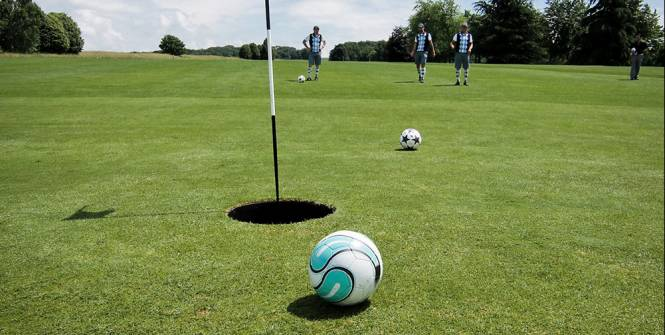 Foot Golf Hole