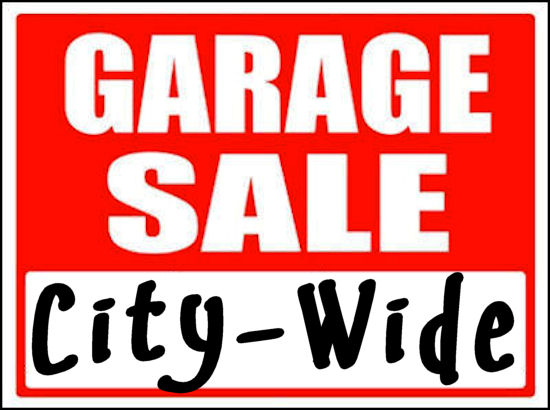 Garage Sale - City-Wide