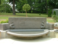 Children's Memorial fountain