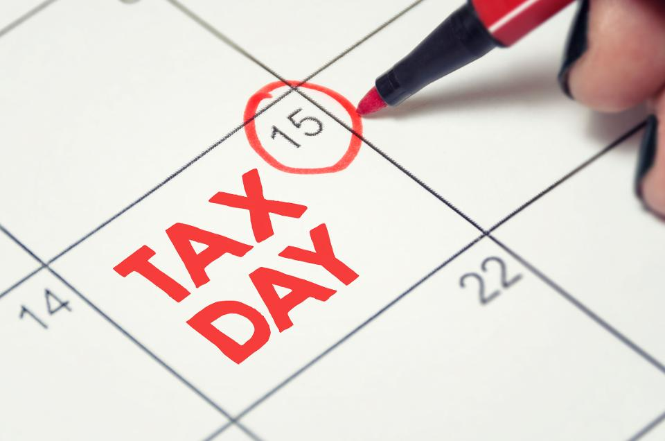Tax Day, July 15 2020