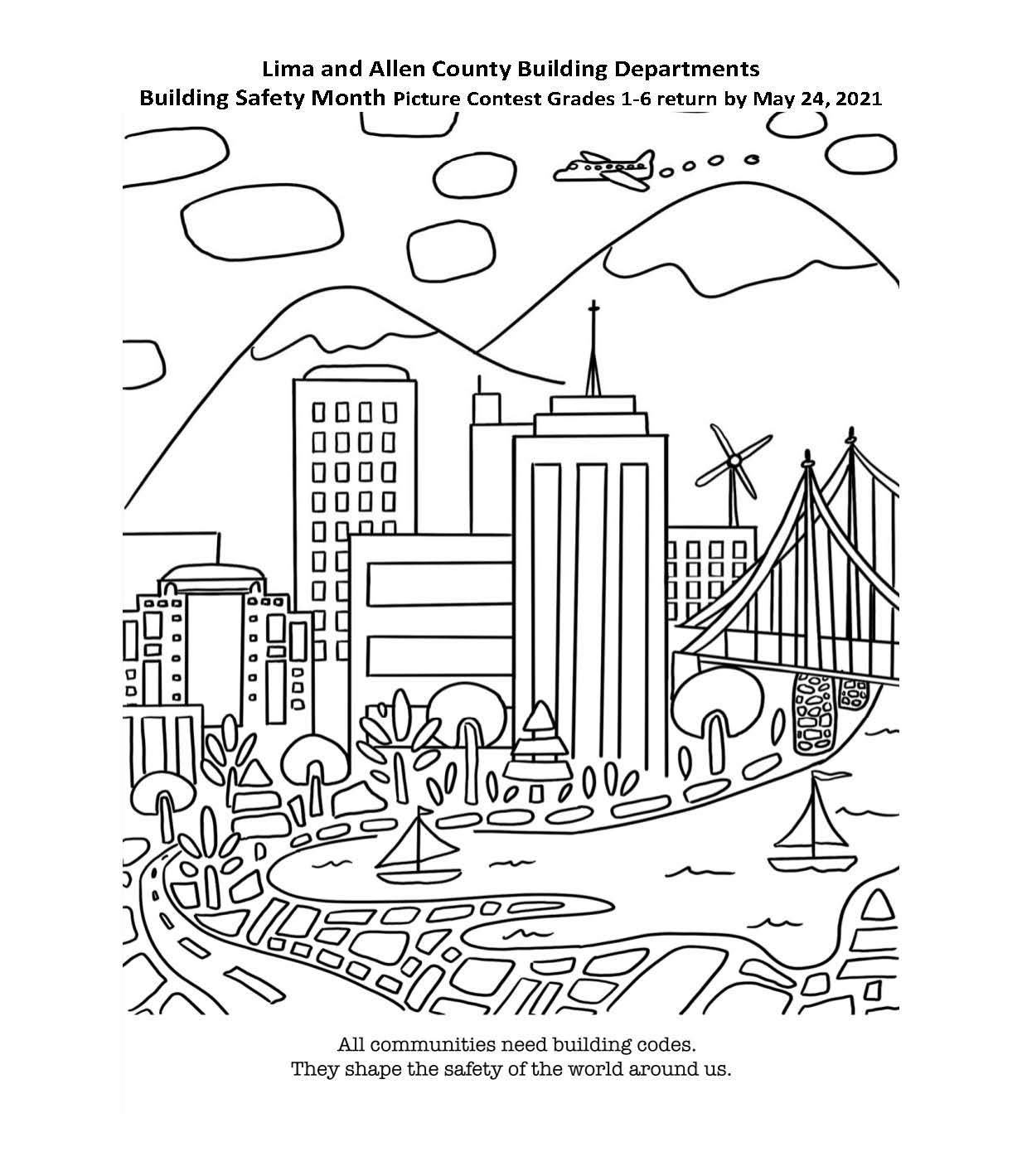 Coloring Contest Page